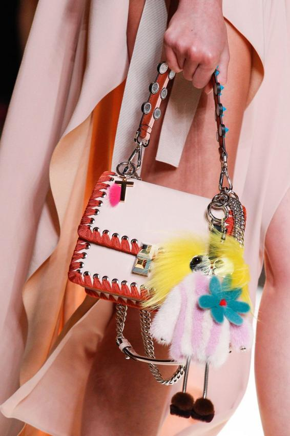 Meet playful Fendi handbags. New collection