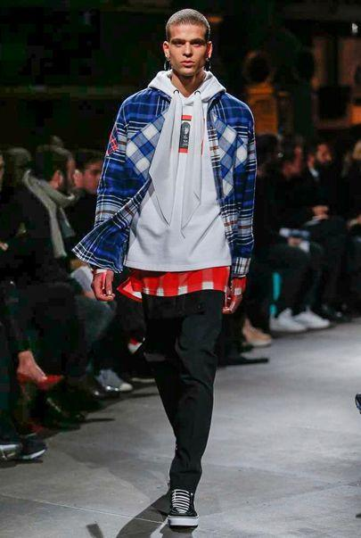 Men's Fashion 2017. Runway collections