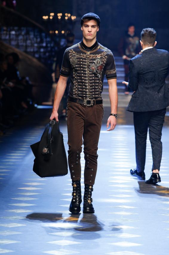 Dolce&Gabbana Men Fashion.Royal and street style united