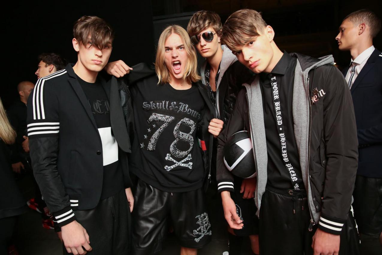 Sports can be fashionable with Philipp Plein