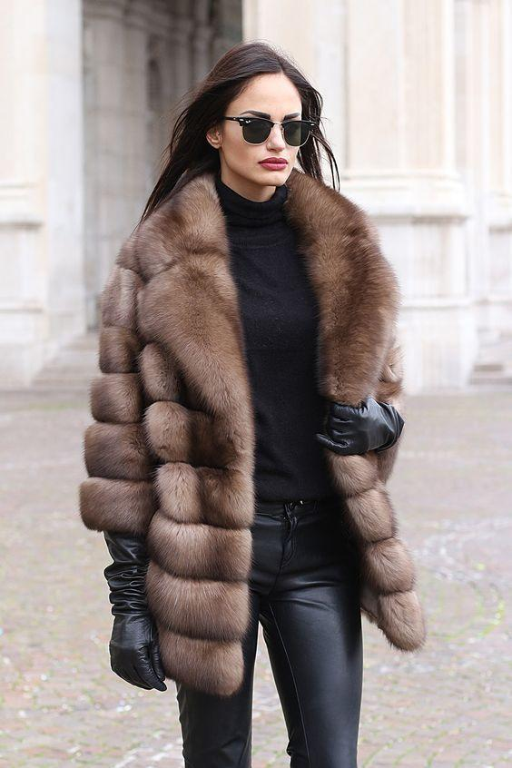 The most popular and most fashionable outerwear for fall - winter