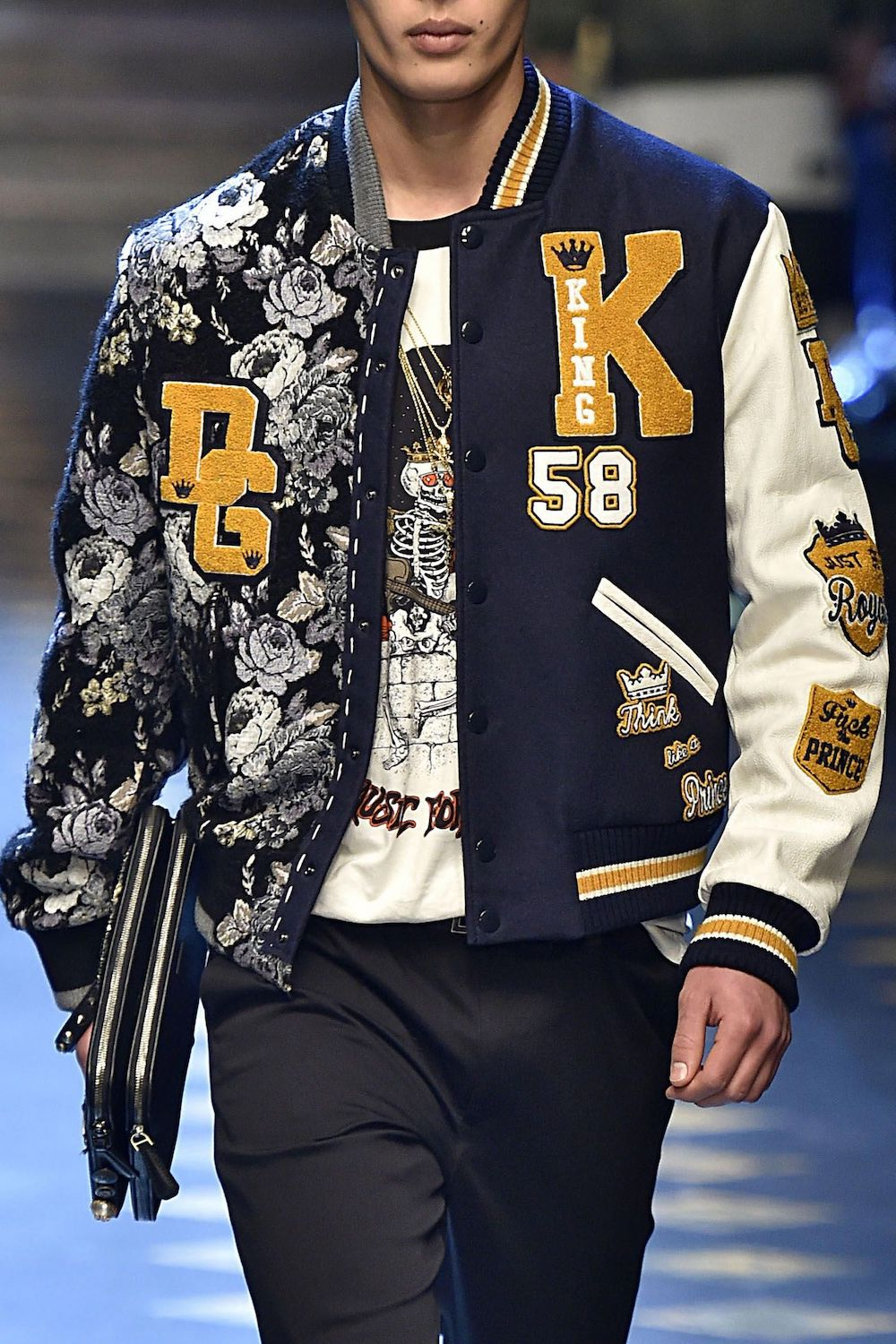 Dolce&Gabbana Varsity Jacket - Fall 2017 Fashion Show