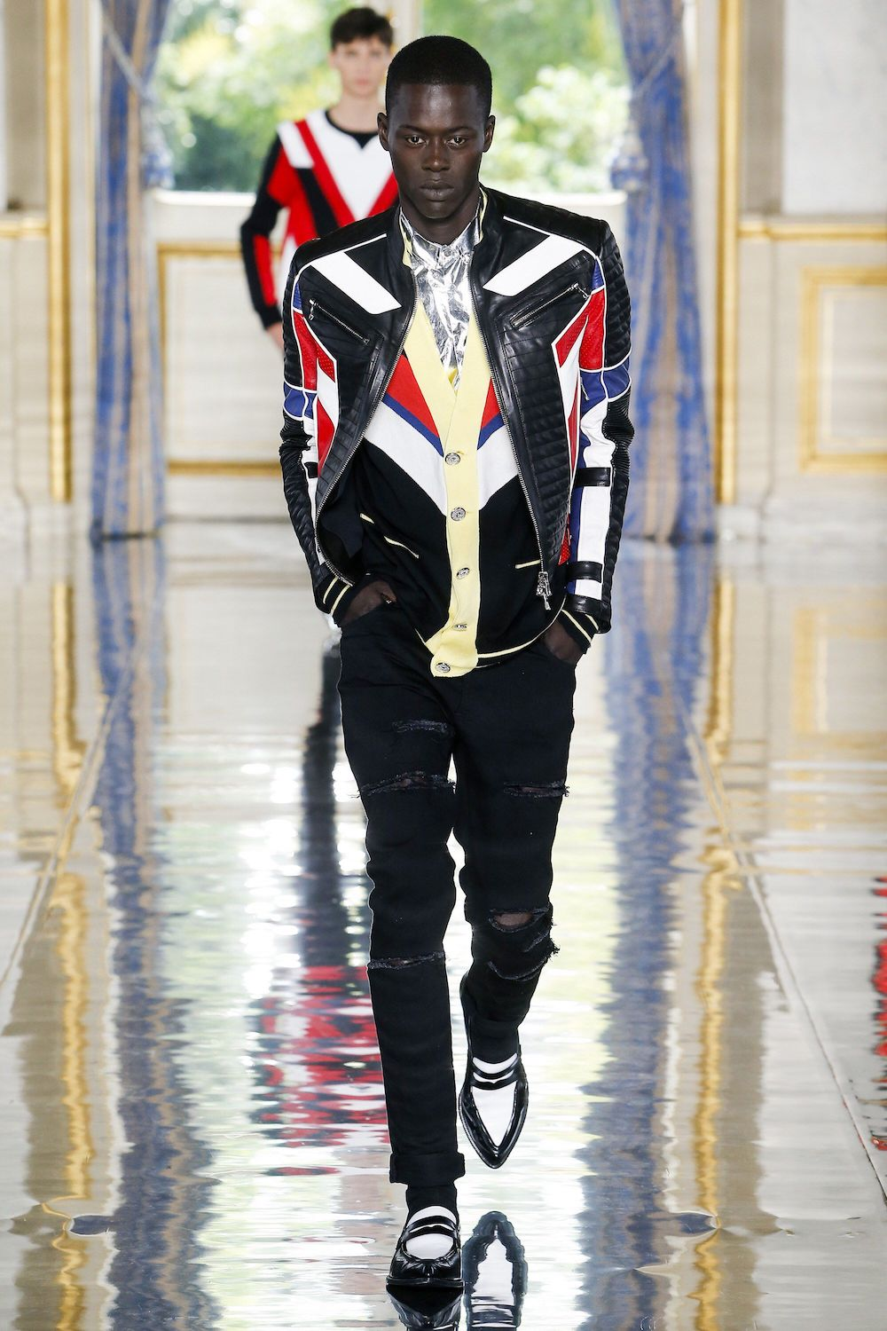 Balmain Michael Jackson Tribute Fashion Show