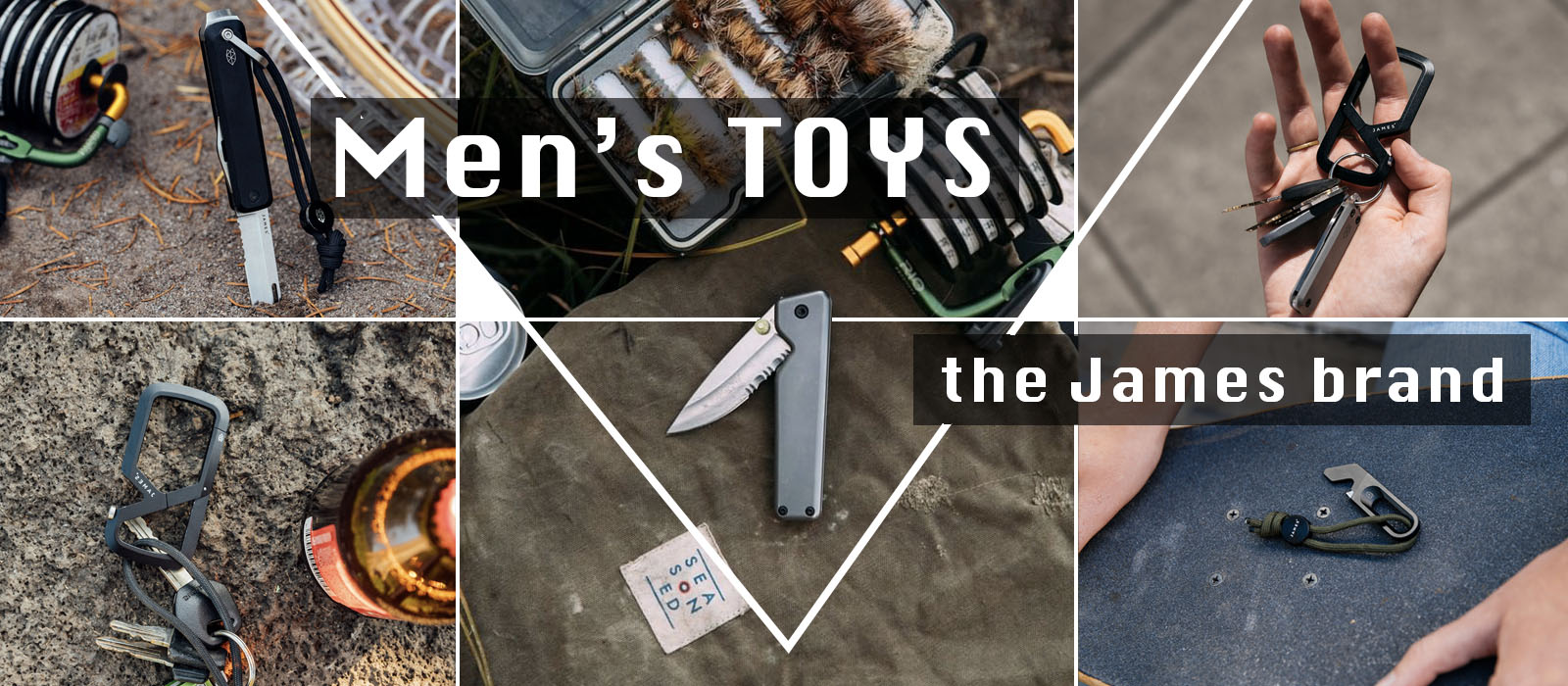 Men's toys: awesome accessories from The James Brand