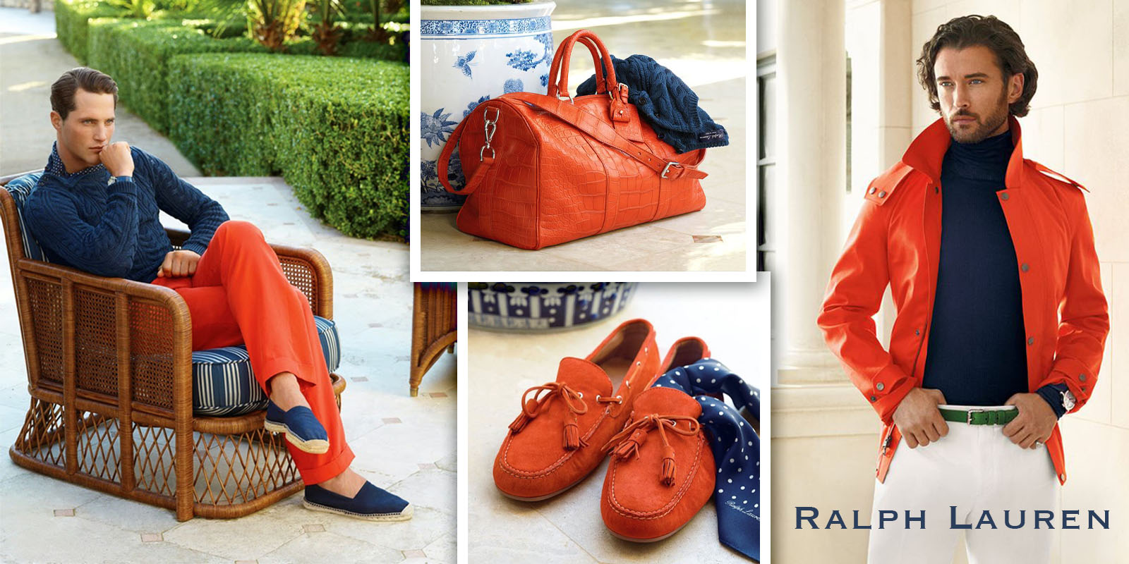 Create a bright spring mood with Ralph Lauren
