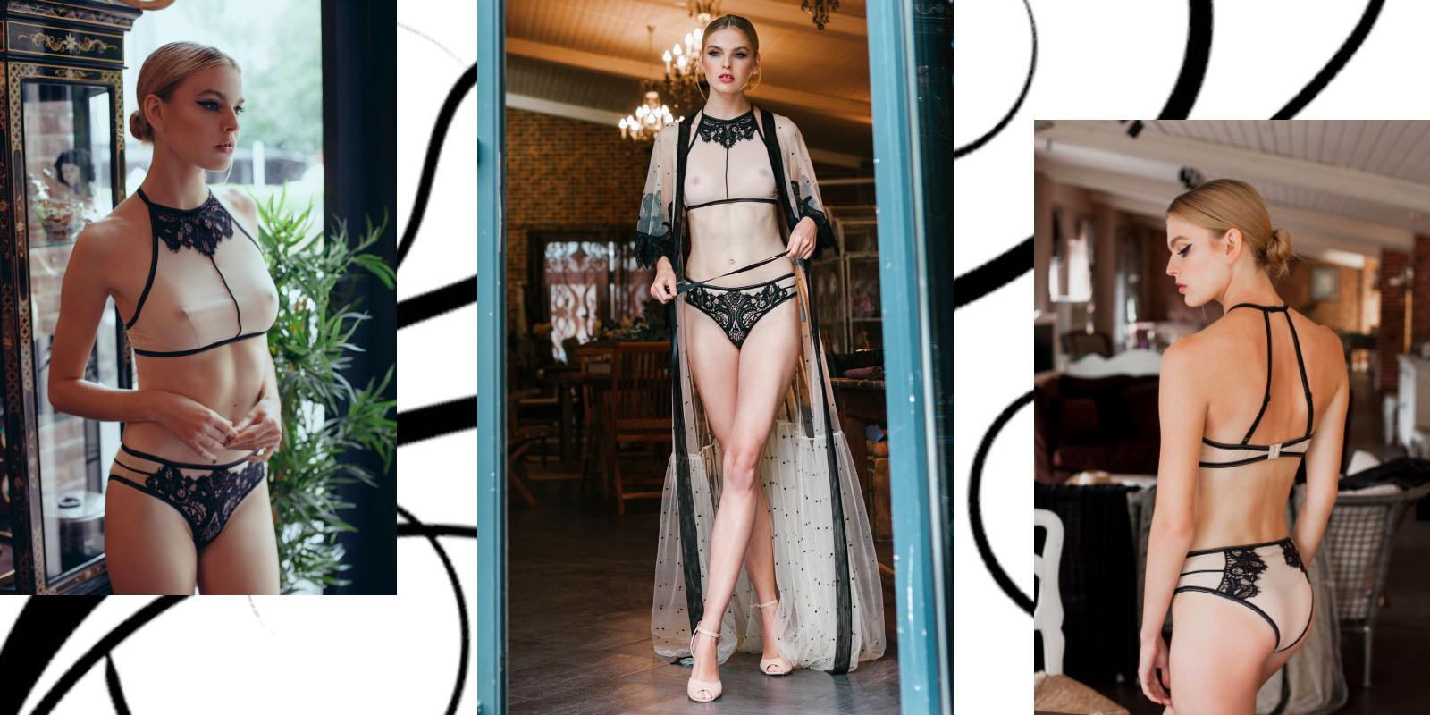 Incredible AND beautIFUL underwear from the Ukrainian brandApilat.