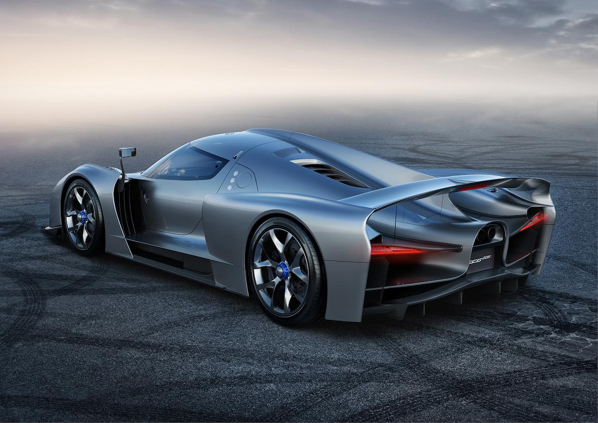 Scuderia Cameron Glickenhaus SCG 003 looking great like grey monster