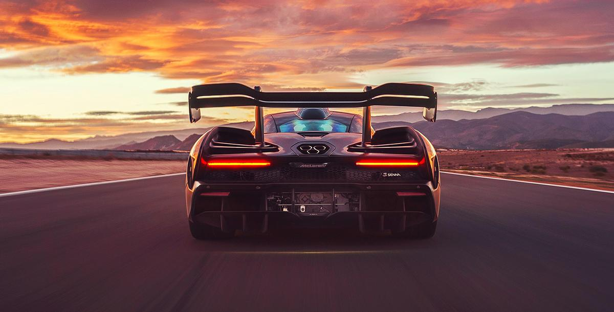 Nothing better then look on the back go this beautiful McLaren Senna 2019