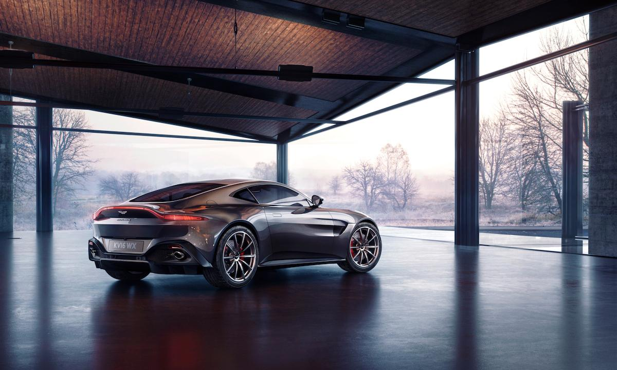 The new Aston Martin Vantage 2019 is waiting for you and a long ride