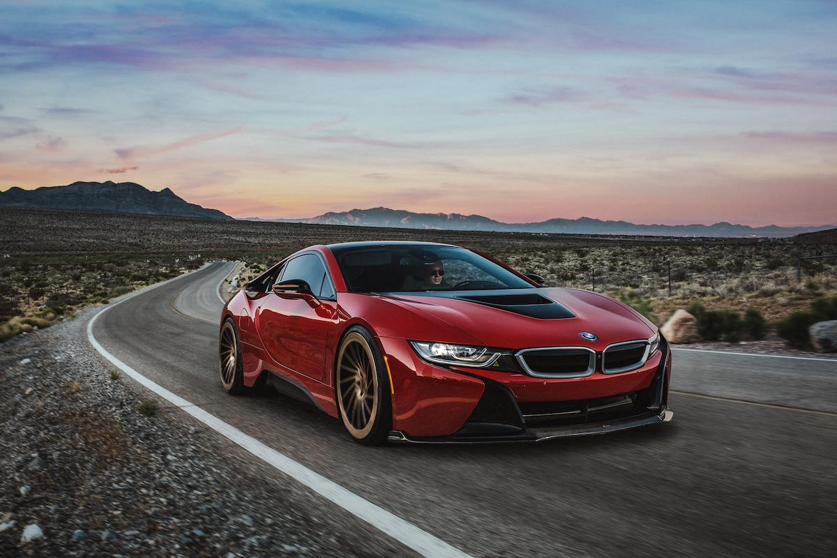 Unstoppable red BMW 8 Series shows how it serious to all envious