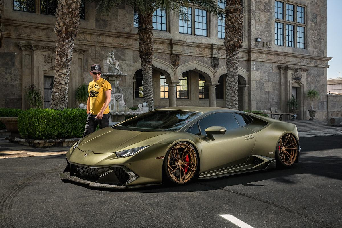 Dream about new Lamborghini? Even in such olive colour? Each taste different