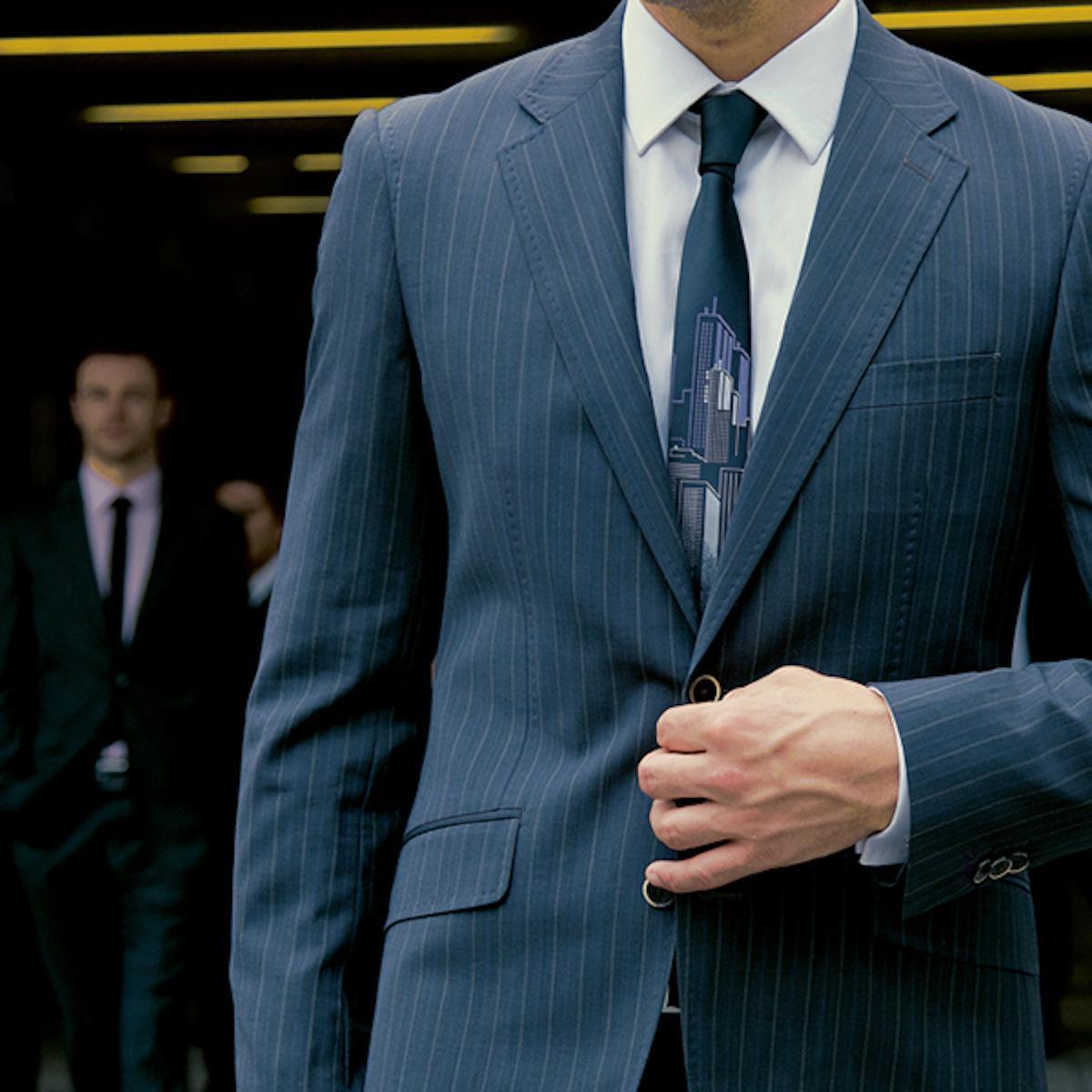 Elegant and strict classic men