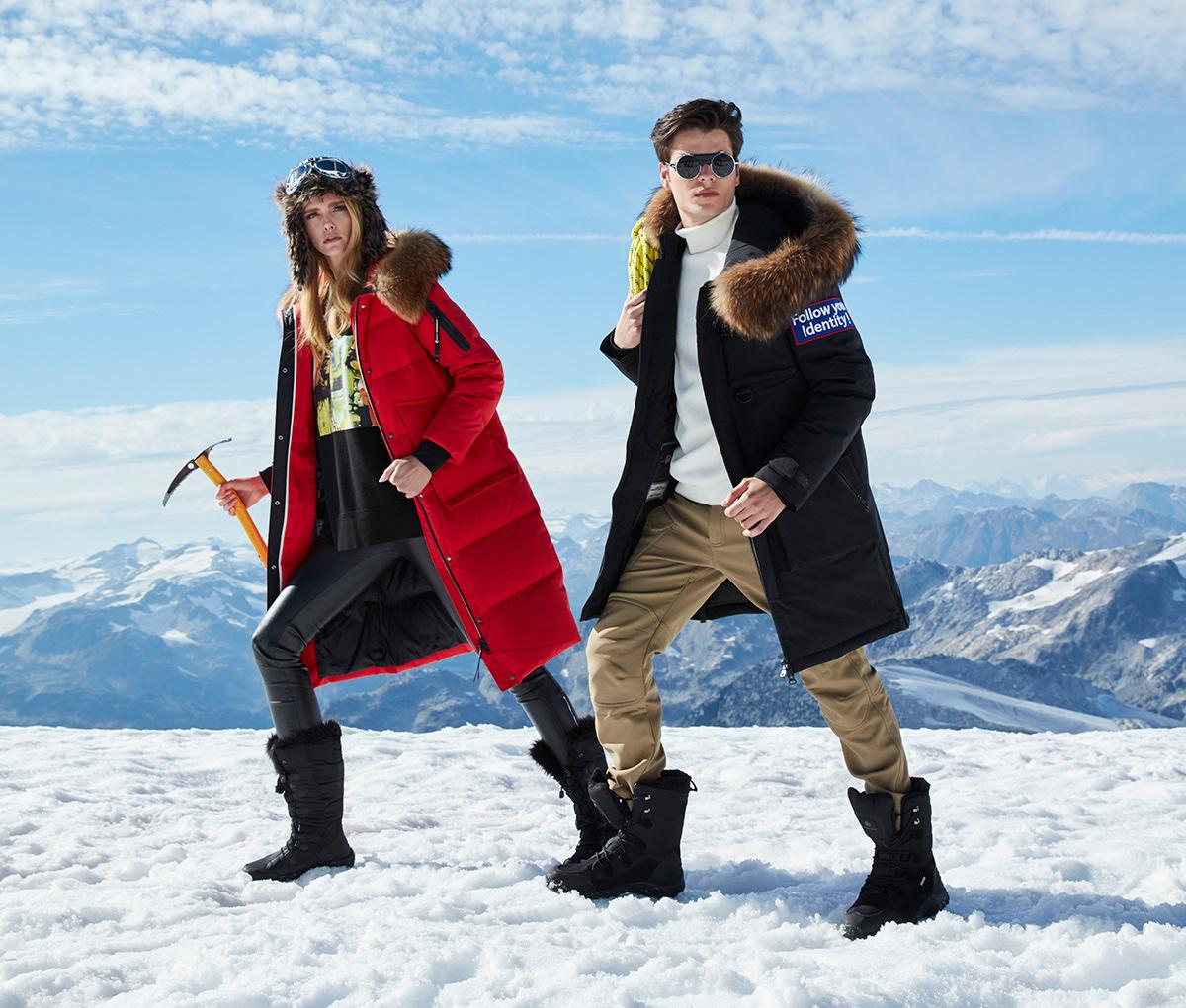 Warm winter equipment starts from right clothes. Be warm be trendy