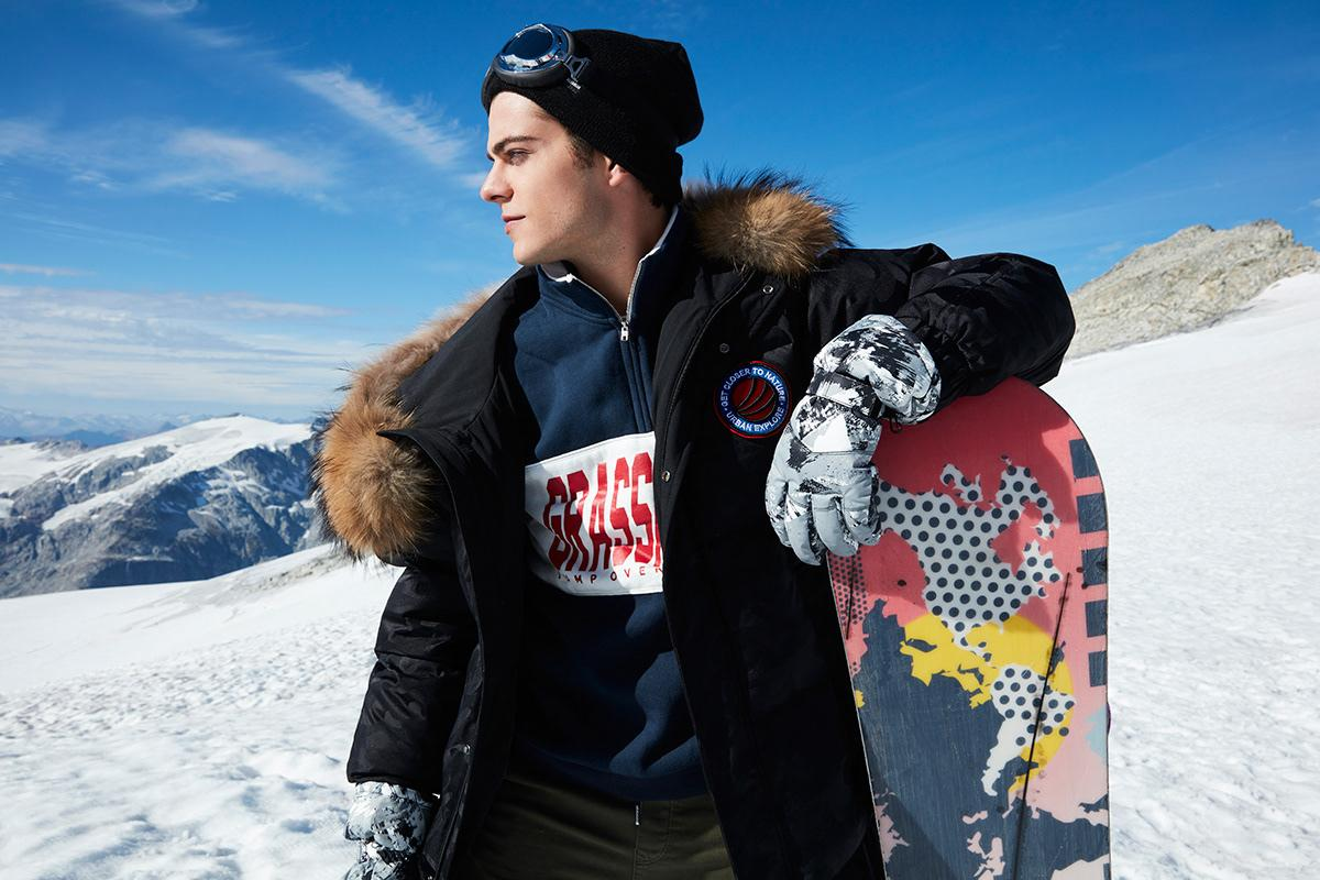 Even if you fall in deep snow, good clothing will keep you warm. Safety