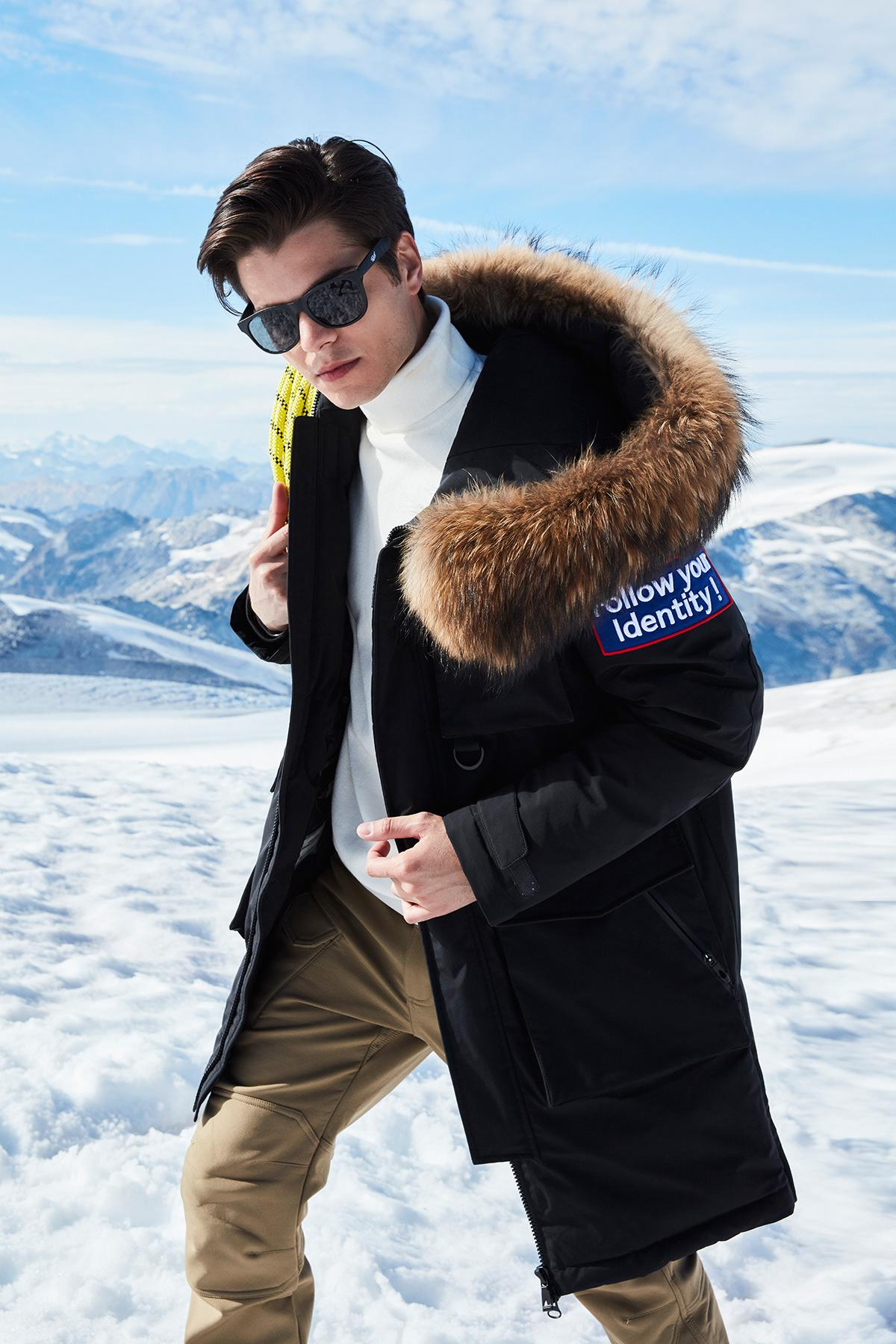Trendy look for mountains is necessary option to make an impression