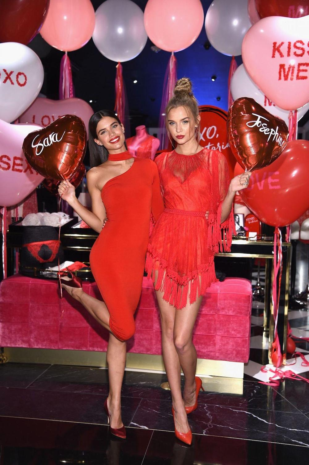 Bright red dress is the best gift for your woman on Valentine's Day