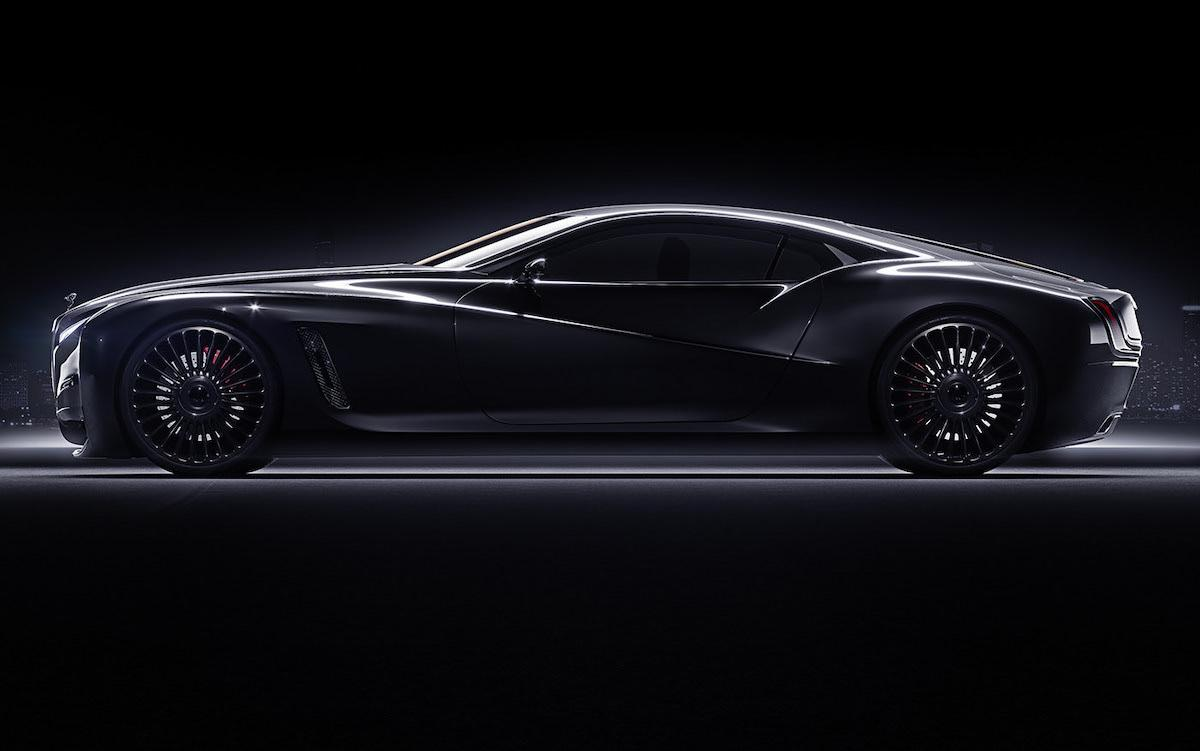 Incredible beauty redesign of the legendary Rolls-Royce coupe in a modern way
