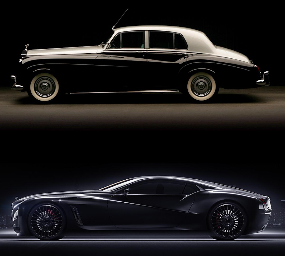 Rolls Roys coupe from classic look to cutting-edge modern way