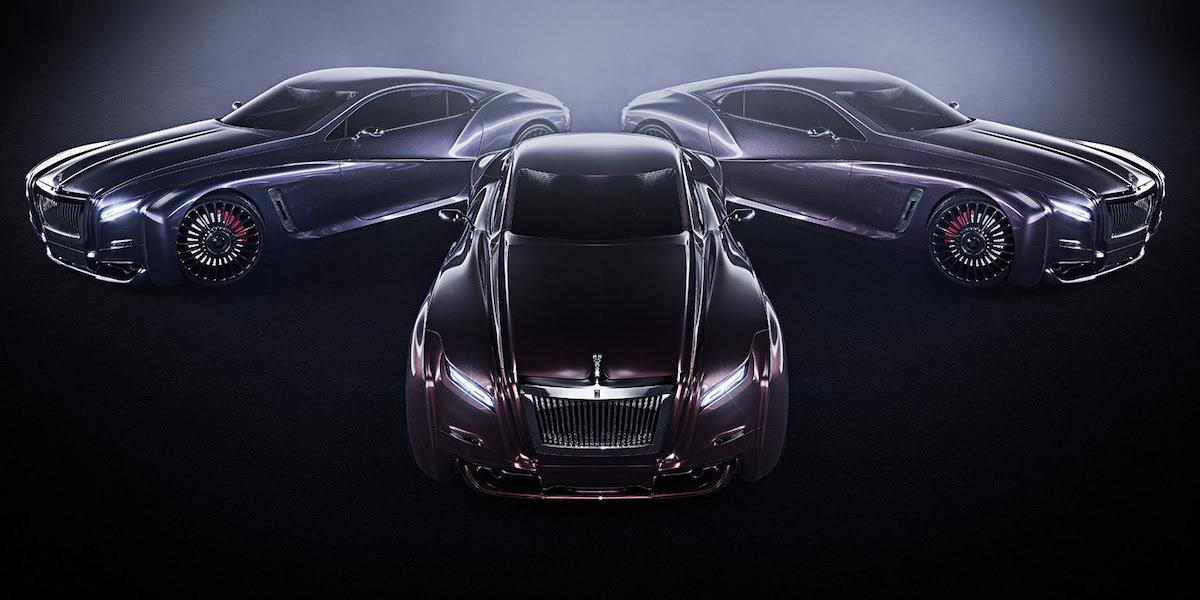 Outstanding design and luxury style united in redesigned new Rolls Roys coupe