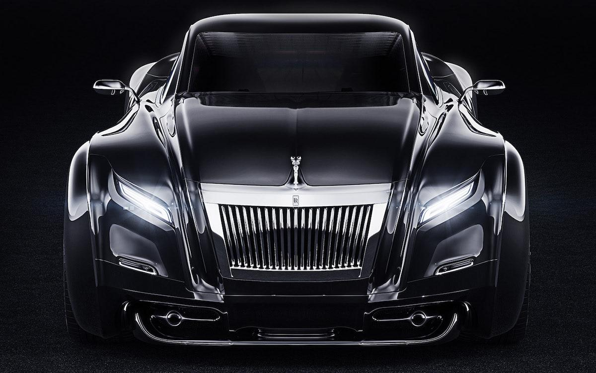 A classic luxury car can be innovative and striking at a glance
