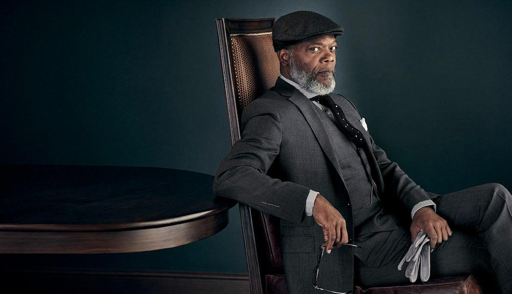 Elegant classic men's style from amazing Samuel L. Jackson