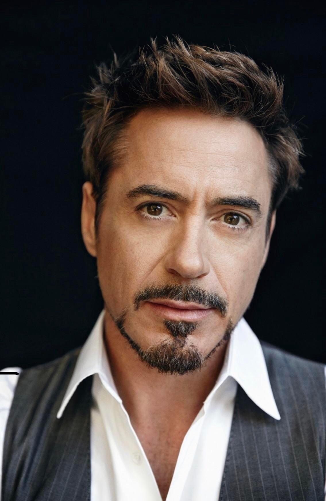 Robert Downey, Jr. classic aesthetic beard style