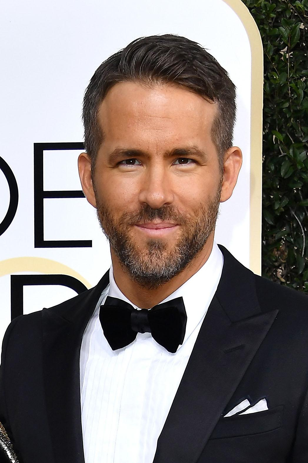 Ryan Reynolds elegant gentleman beard style