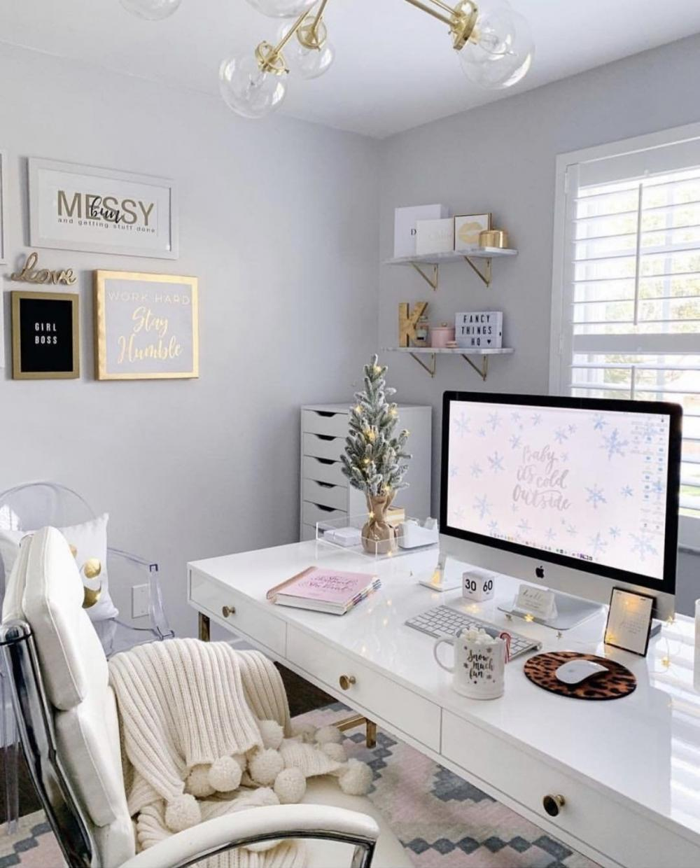 White color perfectly visually enlarges the space