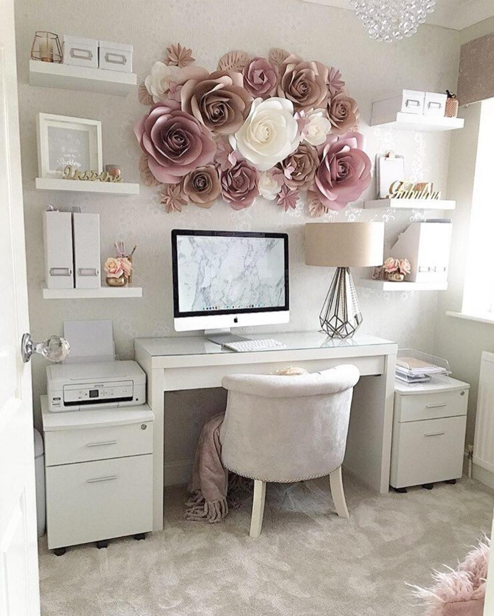 Decorating is everything when organising your home office