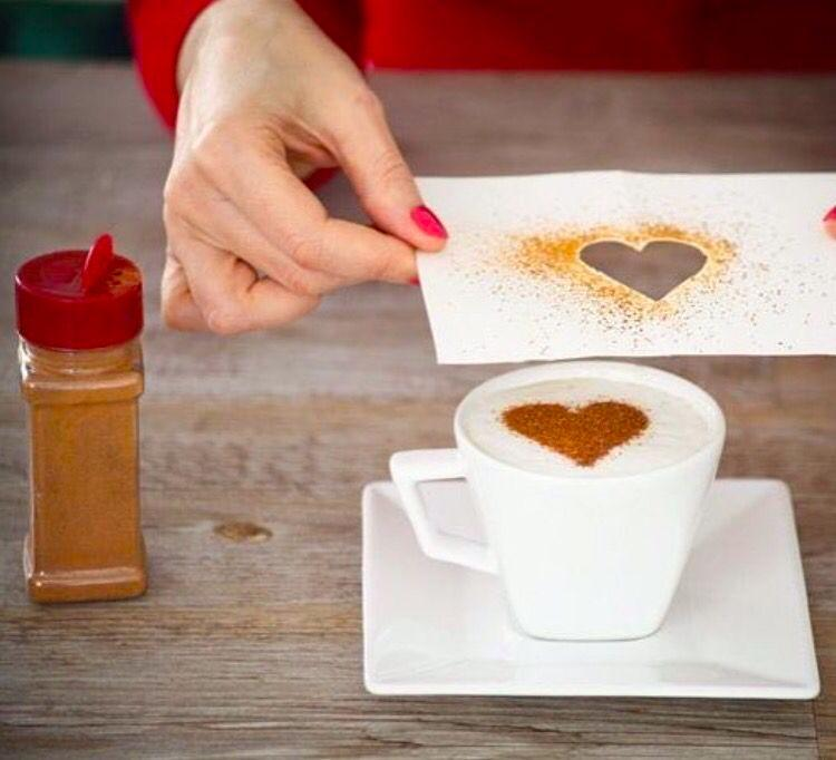 Coffee should have a heart-shaped decoration too