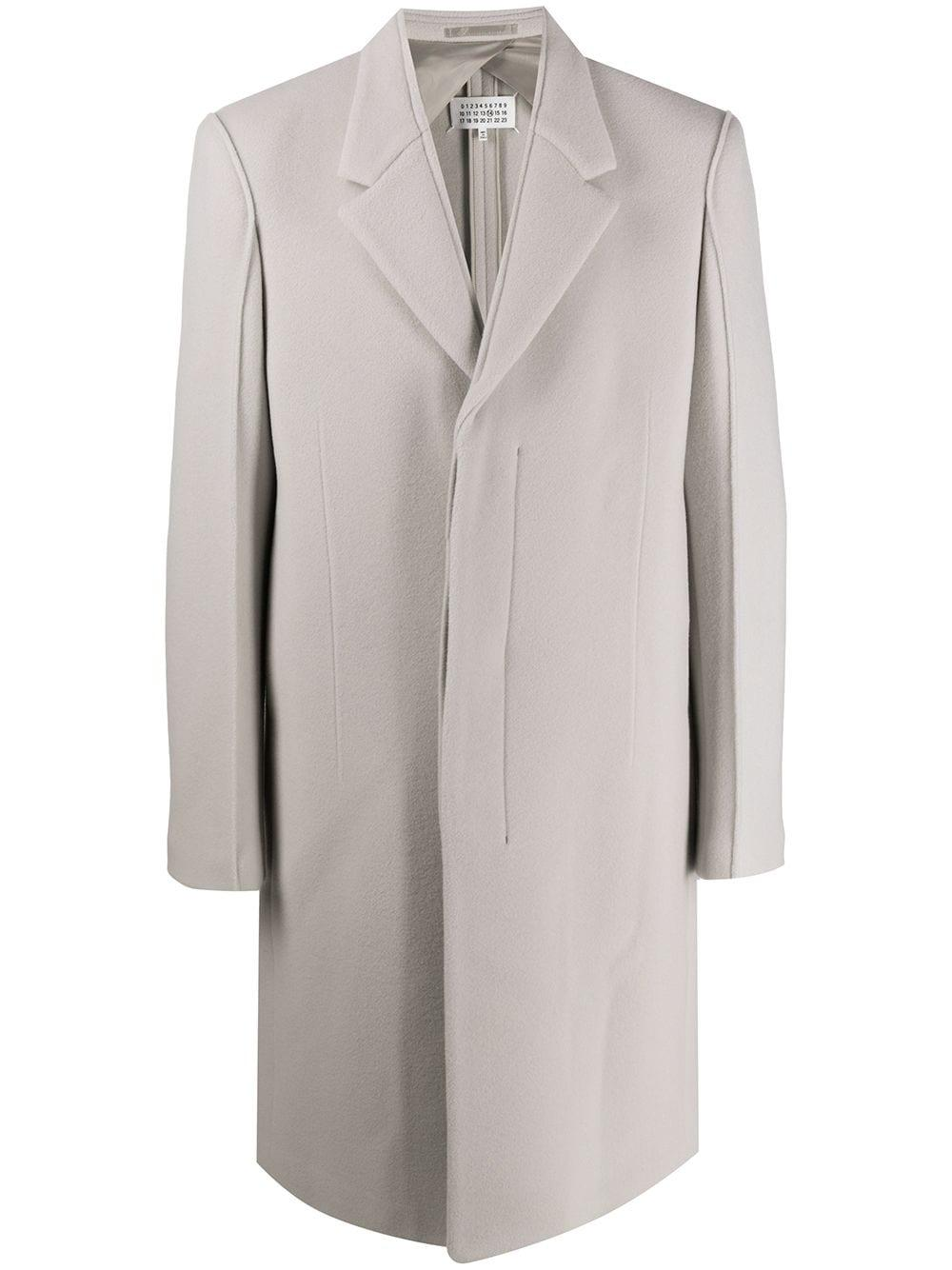 Maison Margiela light grey coat