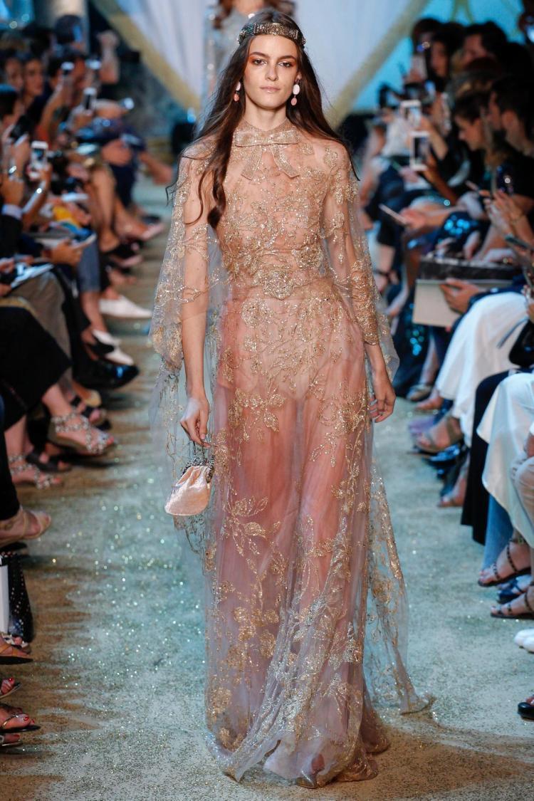 Модний показ нової колекції Elie Saab Haute Couture 2017