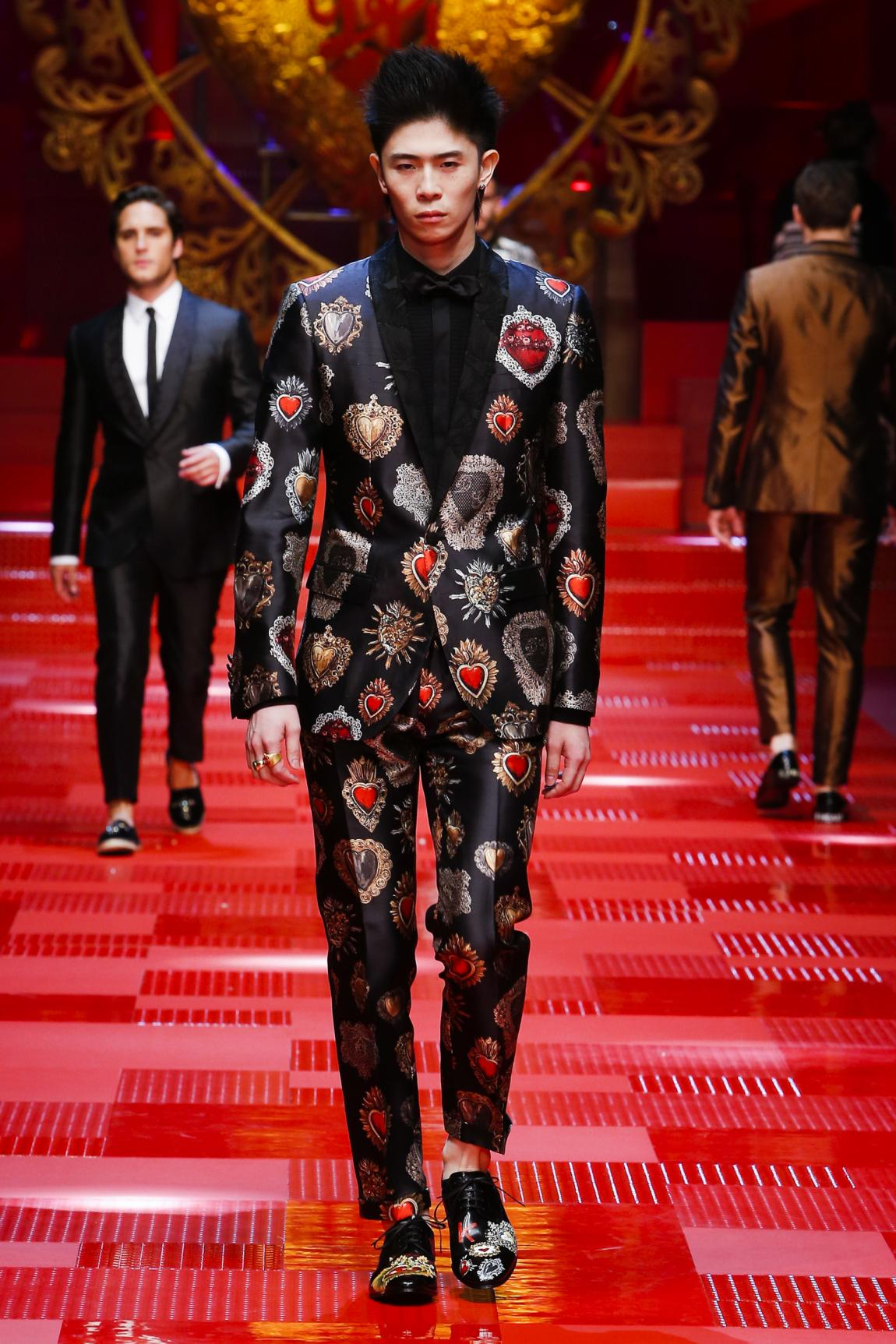 """Dolce&Gabbana """"Король Сердець"""" - чоловіча колекція весна - літо 2018"""
