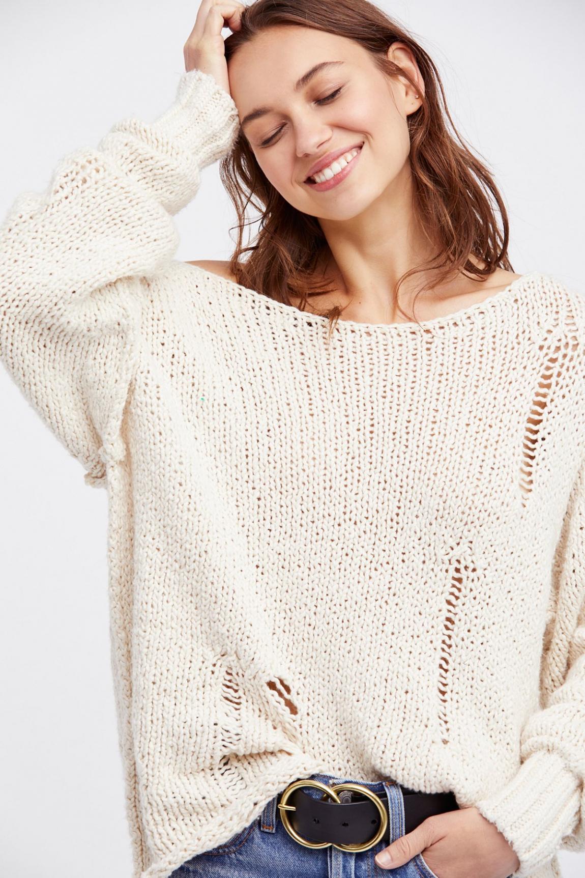 Модні светри для дівчат на осінь - зиму
