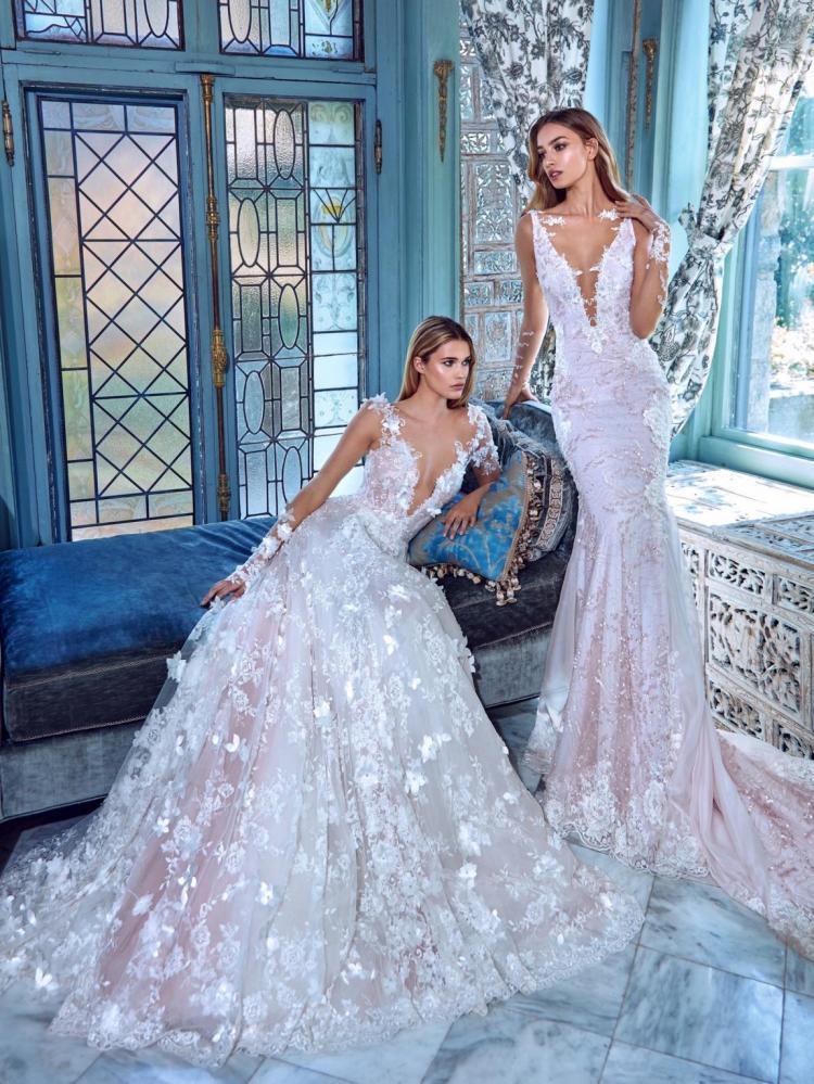 Нова колекція королівських весільних суконь від Galia Lahav