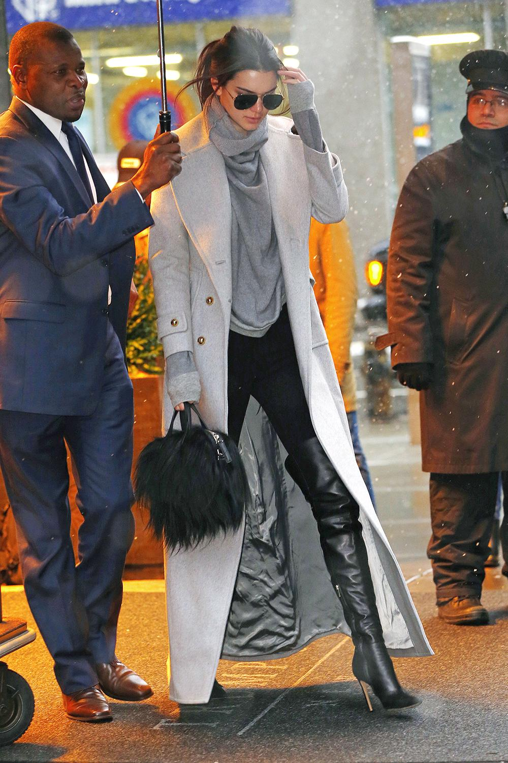 Style icon Kendall Jenner inspires fall style