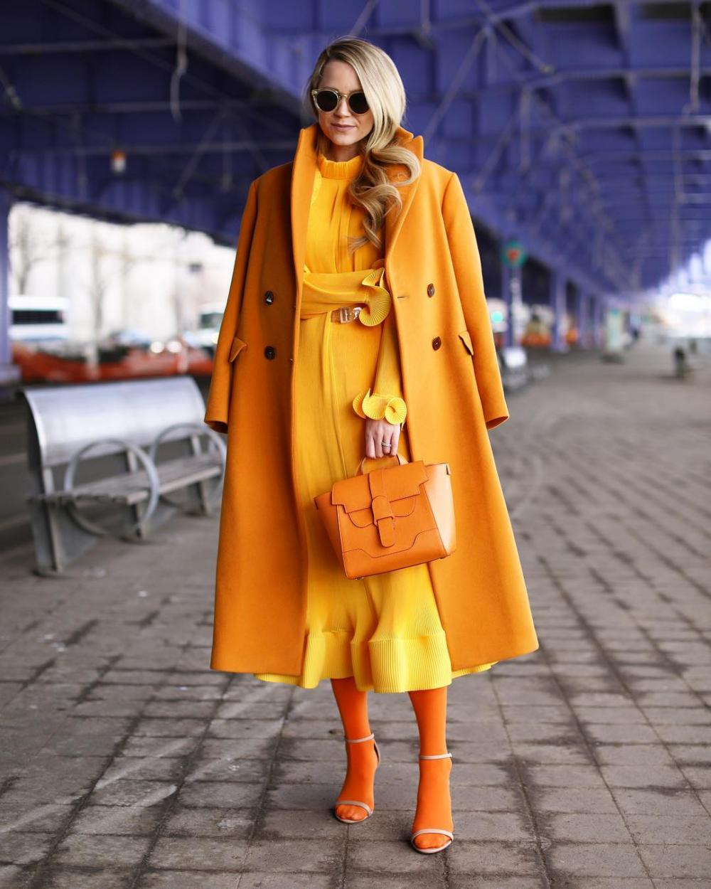 Blair Eadie's orange magnificence