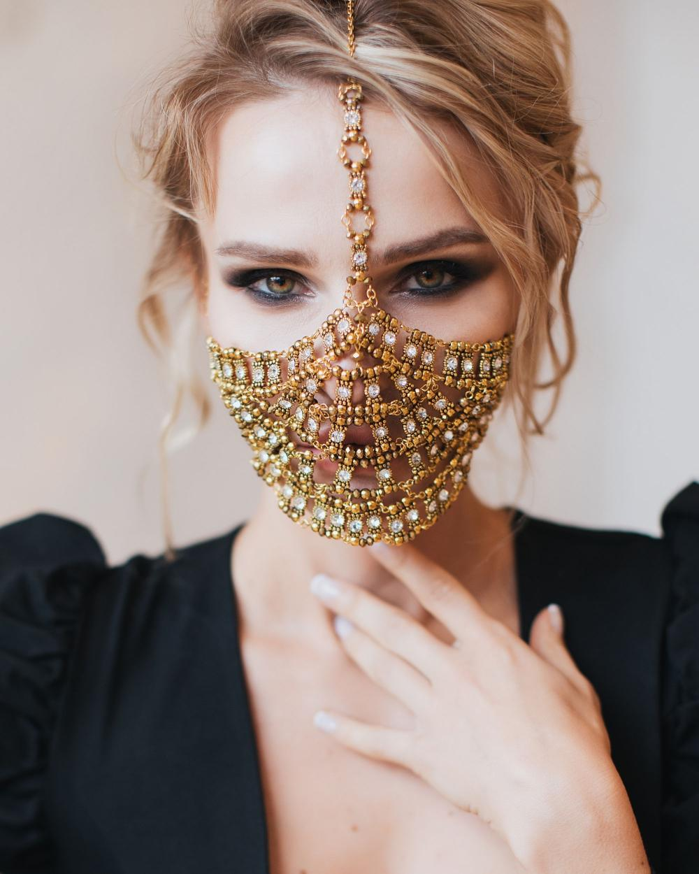 The face mask is not only a protective accessory, but also a stylish addition to your every outfit