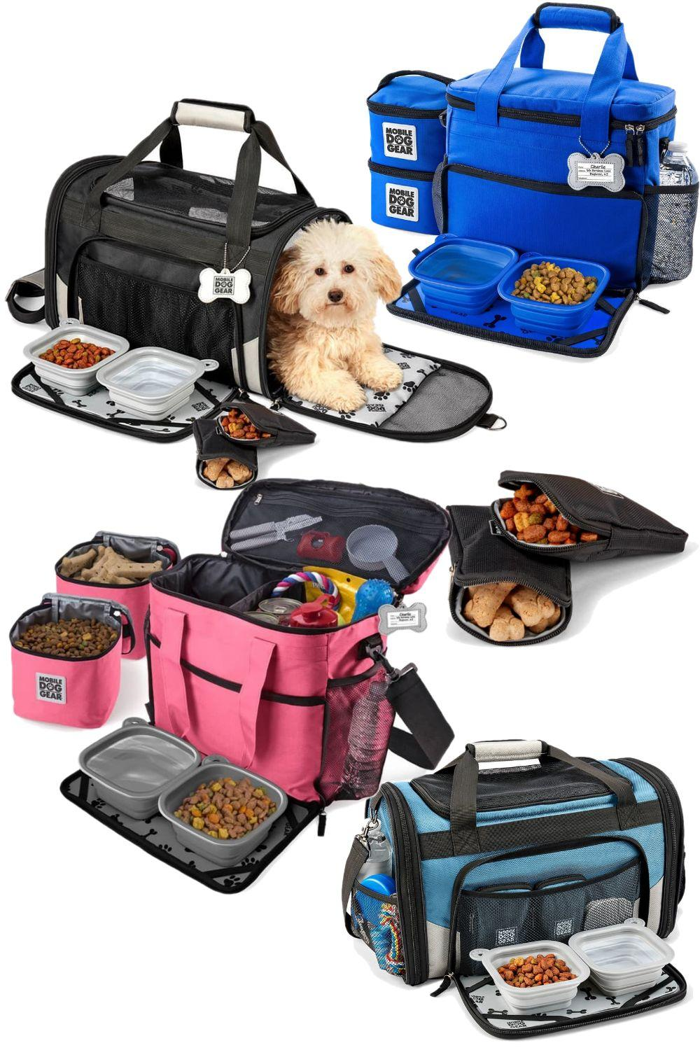 Expertly designed bag will have your pet traveling in style!