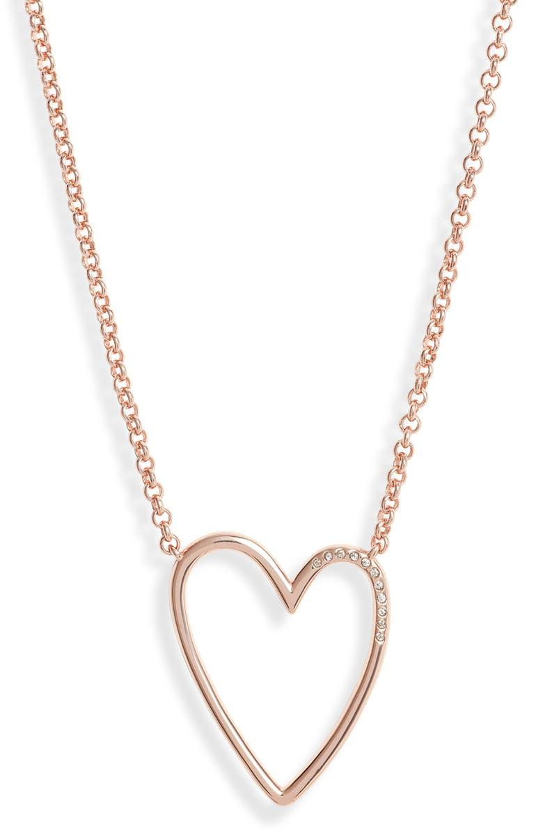 Ansley Heart Pendant Necklace
