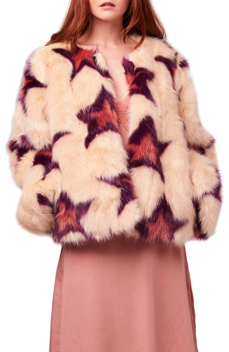 Garland Faux Fur Jacket