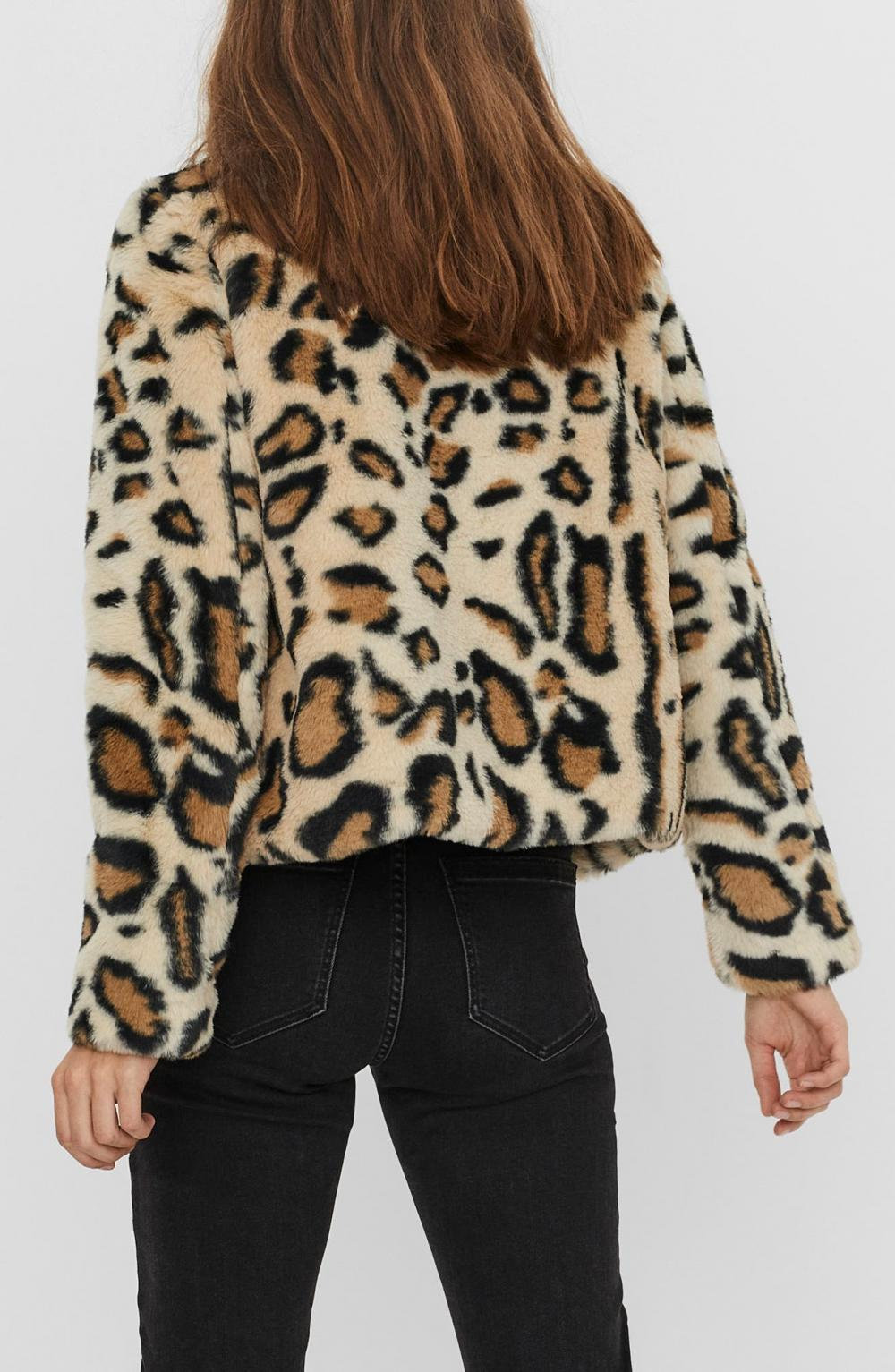 Thea Leo Faux Fur Short Jacket