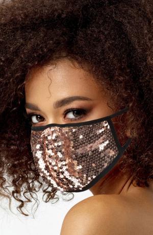 2-Pack Sequin Adult Face Masks
