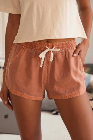 Road Trippin' Terracotta Shorts